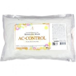 Маска альгинатная для проблемной кожи с акне ANSKIN AC Control Modeling Mask, 240 гр.