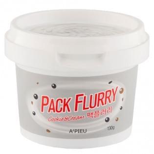 Маска-скраб для лица A'PIEU Pack Flurry (Cookie&Cream), 130 мл.
