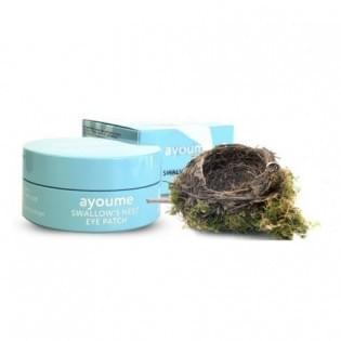 Патчи для глаз подтягивающие с экстрактом ласточкиного гнезда AYOUME SWALLOW'S NEST EYE PATCH, 60 шт.