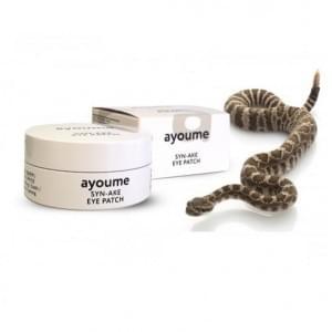Патчи для глаз антивозрастные со змеиным пептидом AYOUME SYN-AKE EYE PATCH, 60 шт.