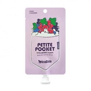 Пенка для умывания BERRISOM Petite Pocket vita berry foam, 30 мл.