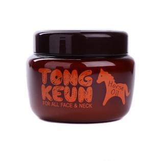 Маска питатательная для лица с лошадиным жиром BAVIPHAT Urban Dollkiss Tongkeun Golden Horse Oil Pack, 300 мл.