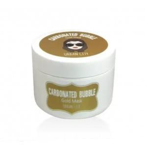 Маска для лица глиняно-пузырьковая с золотом BAVIPHAT Urban City Carbonated Bubble Gold Mask