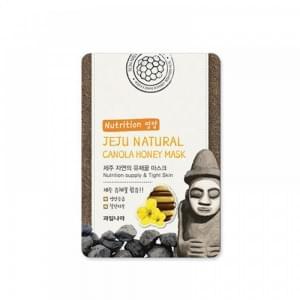 Маска для лица питательная WELCOS Jeju Nature's Canola Honey Mask