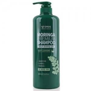 Шампунь для волос с экстрактом моринги Daeng Gi Meo Ri MORINGA Premium Shampoo, 1000 мл.