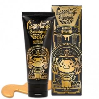 Маска-пленка золотая ELIZAVECCA Hell-Pore Longolongo Gronique Gold Mask Pack, 100 мл.
