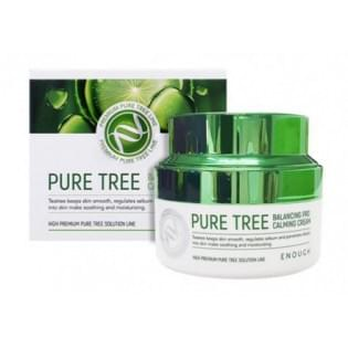 Крем для лица с экстрактом чайного дерева Enough Pure Tree Balancing Pro Calming Cream, 50 мл.