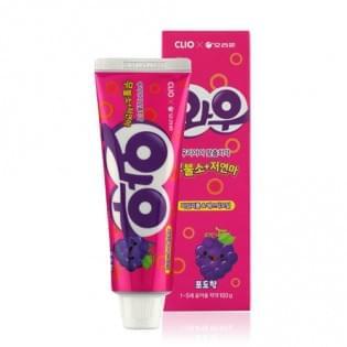 Детская зубная паста Wow grape taste toothpaste, 100 гр.