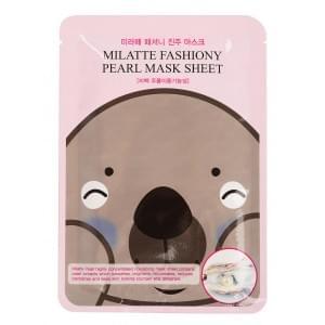 Маска тканевая с экстрактом жемчуга MILATTE FASHIONY PEARL MASK SHEET