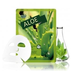 Маска для лица тканевая MAY ISLAND Real Essence Aloe Mask Pack