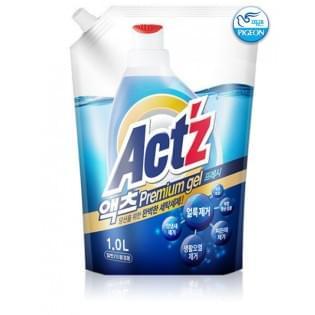 Концентрированный гель для стирки белья ACT'Z Primium Gel Fresh, 1000 мл.