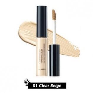 Консилер для маскировки недостатков кожи The Saem Cover Perfection Tip Concealer 01. Clear Beige, 6,5 мл.