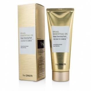 Пенка для умывания The SAEM Snail Essential EX Wrinkle Solution Deep Cleans, 150 мл.