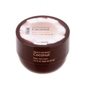 Крем-гель с кокосом The SAEM TOUCH ON BODY Coconut Body Gel Cream