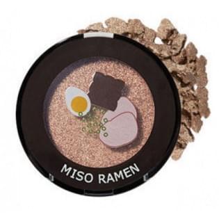 Тени для век мерцающие The Saem Saemmul Single Shadow(Shimmer) YE04 Miso Ramen