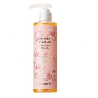 Жидкое мыло для рук The Saem Garden Pleasure Hand Wash -Magnolia-, 300 мл.