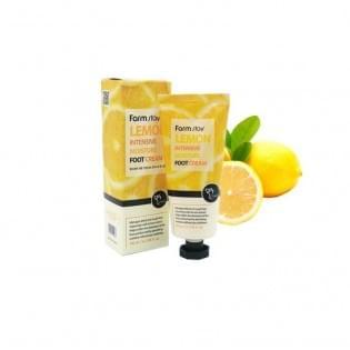 Крем для ног увлажняющий с экстрактом лимона Farmstay Lemon Intensive Moisture Foot Cream, 100 мл.