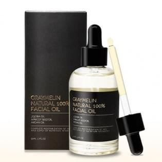 100% натуральное масло для лица GRAYMELIN Natural 100% Facial Oil, 50 мл.