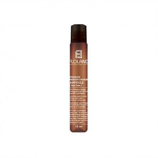 Ампула для восстановления поврежденных волос Floland Premium Keratin Change Ampoule, 13 мл.
