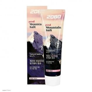 Зубная паста с гималайской солью KERASYS 2080 Pink Mountain Salt Toothpaste (розовая), 120 гр.