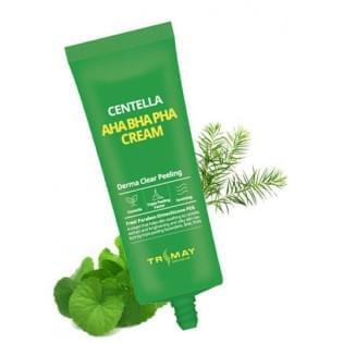 Обновляющий крем с кислотами и центеллой TRIMAY AHA BHA PHA Centella Cream, 50 мл.
