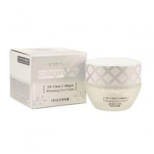 Осветляющий крем для век с коллагеном 3W Clinic Collagen Whitening Eye Cream, 35 мл.