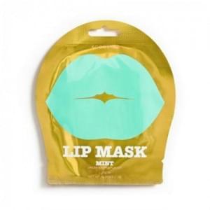 Гидрогелевые патчи для губ с ароматом зеленого винограда и экстрактом мяты Kocostar Lip Mask Mint S