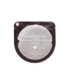 Гидрогелевые патчи для глаз Тропические фрукты (Кокос) Kocostar Tropical Eye Patch (Coconut) Single