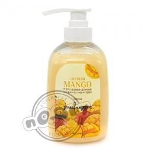 Гель для душа МАНГО 3W CLINIC I'm Fresh Mango Purfume Body Cleanser