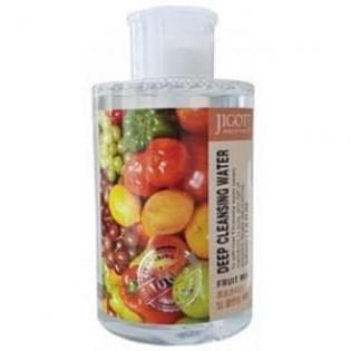 Жидкость для снятия макияжа фруктовый микс JIGOTT FRUIT MIX Deep Cleansing Water, 530 мл