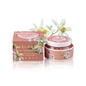 Крем для лица с экстрактом эдельвейса JIGOTT  EDELWEISS Flower Hydration Cream, 100 мл
