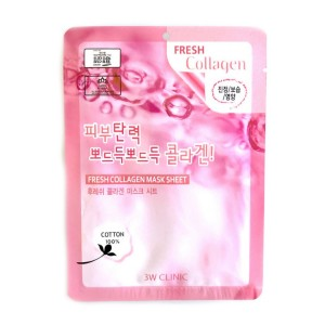 Тканевая маска для лица с коллагеном 3w clinic  Fresh Collagen Mask Sheet