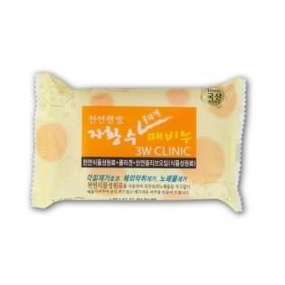 Мыло с коллагеном 3W CLINIC Collagen Dirt Soap, 150 гр.
