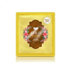 Маска для лица гидрогелевая с золотом и маточным молочком GOLD & ROYAL JELLY MASK