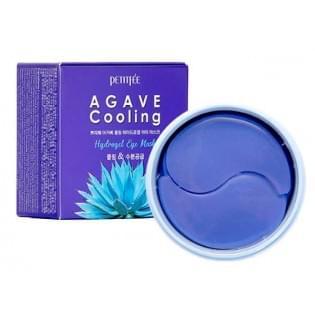Патчи для век гидрогелевые с экстрактом агавы PETITFEE Agave Cooling Hydrogel Eye Mask, 60 шт.