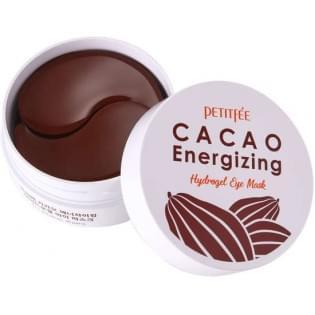 Гидрогелевые патчи для глаз с экстрактом какао PETITFEE Cacao Energizing Hydrogel Eye Mask, 60 шт