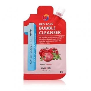 Пенка для умывания Eyenlip RED TOKS BUBBLE CLEANSER, 20 мл.