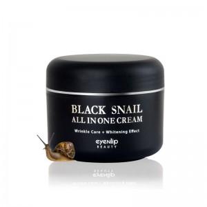 Крем для лица многофункциональный с экстрактом черной улитки EYENLIP Black Snail All In One Cream