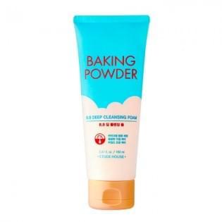 Пенка для глубокого очищения кожи на основе соды ETUDE HOUSE Baking Powder BB Deep Cleansing Foam, 150 мл.