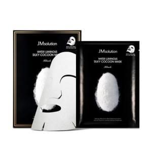 Тканевая маска с протеинами шелка JMsolution Water Luminous Silky Cocoon Mask