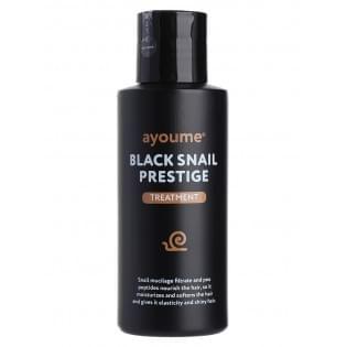 Маска для волос с муцином улитки AYOUME BLACK SNAIL PRESTIGE TREATMENT, 100 мл.