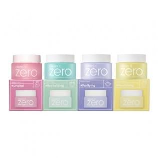 Набор очищающих бальзамов BanilaCo Set Miniature Clean It Zero, 4 шт*7гр.