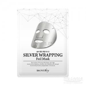 Маска для лица Secret Key Silver Wrapping Foil Mask