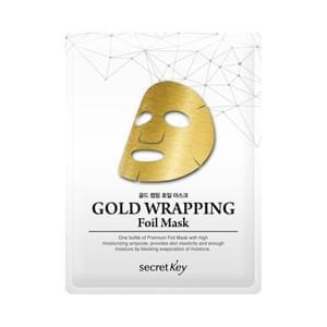 Маска для лица Secret Key Gold Wrapping Foil Mask