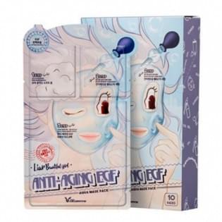 Маска 3-х шаговая для лица антивозрастная Elizavecca 3-step anti aging mask
