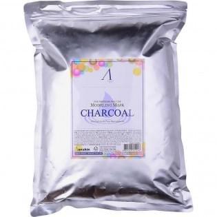 Маска альгинатная для жирной кожи с расширен.порами (пакет)  Charcoal Modeling Mask, 1 кг.