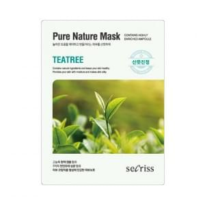 Маска для лица тканевая Anskin  Secriss Pure Nature Mask Pack-Teatree