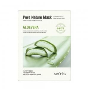 Маска для лица тканевая Anskin Secriss Pure Nature Mask Pack- Aloevera