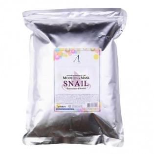 Маска альгинатная с муцином улитки (пакет) Anskin Snail Modeling Mask/1 кг.