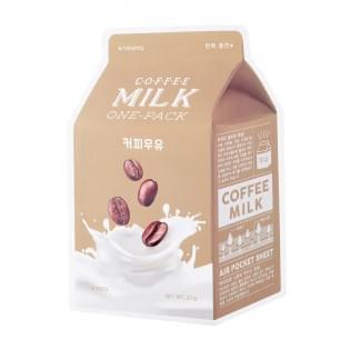 Маска для лица тканевая кофейная A'PIEU Coffee Milk One-Pack